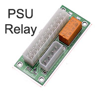Multi Power Supply Relay Link Board, Dual PSU Switch