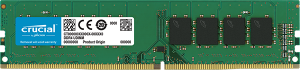8GB Crucial DDR4 PC19200-2400Mhz CL17 Single Rank Desktop Memory