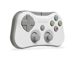 White Stratus Wireless Gamepad For Apple iOS7+ Dev...