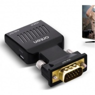 Onten HDMI to VGA Converter with Audio Port, [OTN-...