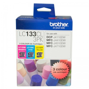 LC133 COLOUR VALUE PACK 1XCYAN 1X MAGENTA 1X YELLOW
