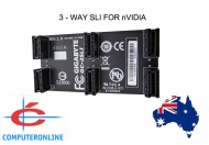 3-way or 2 way GIGABYTE nVidia SLi Bridge Cable Connector Adapter 8cm