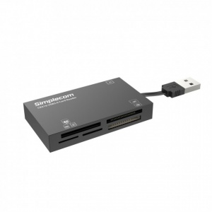 Simplecom CR216 USB 2.0 All in One Memory Card Reader 6 Slot