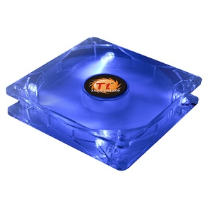 80mm Thunderblade Blue LED Basic Fan