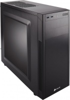 Corsair Carbide Series 100R Silent Edition Quiet Mid Tower Case - Build a high-performance, low-noise PC that looks good anywhere.