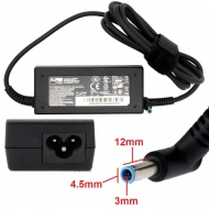 65W Notebook AC Adapter Charger For HP ultrabook