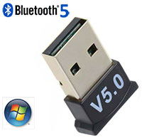 USB Bluetooth Ver 5 Dongle / Adapter for Win / Linux OS
